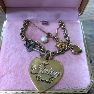 Juicy Couture Limited Edition Charm Necklace